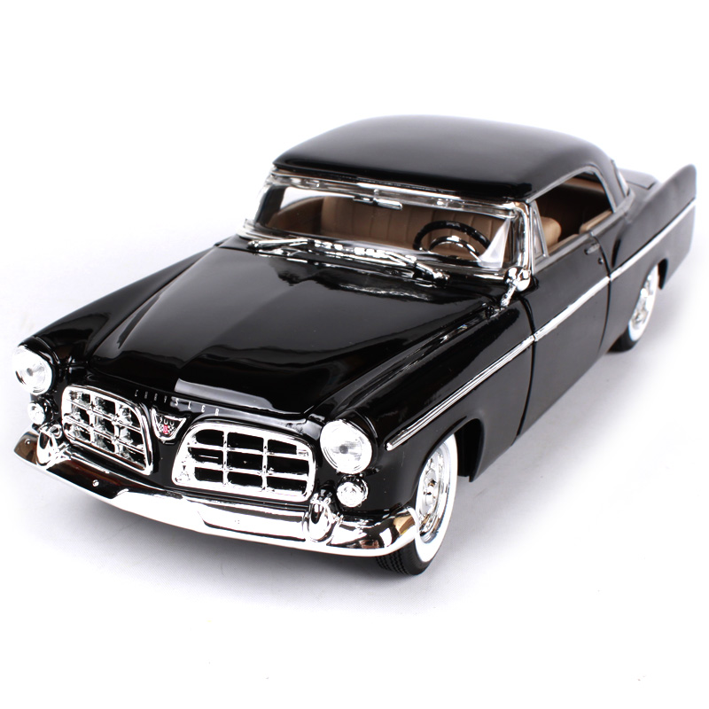 1 18 diecast car 1956 chrysler 300b 1 18 alloy car metal vehicle collectible models toys for. Black Bedroom Furniture Sets. Home Design Ideas