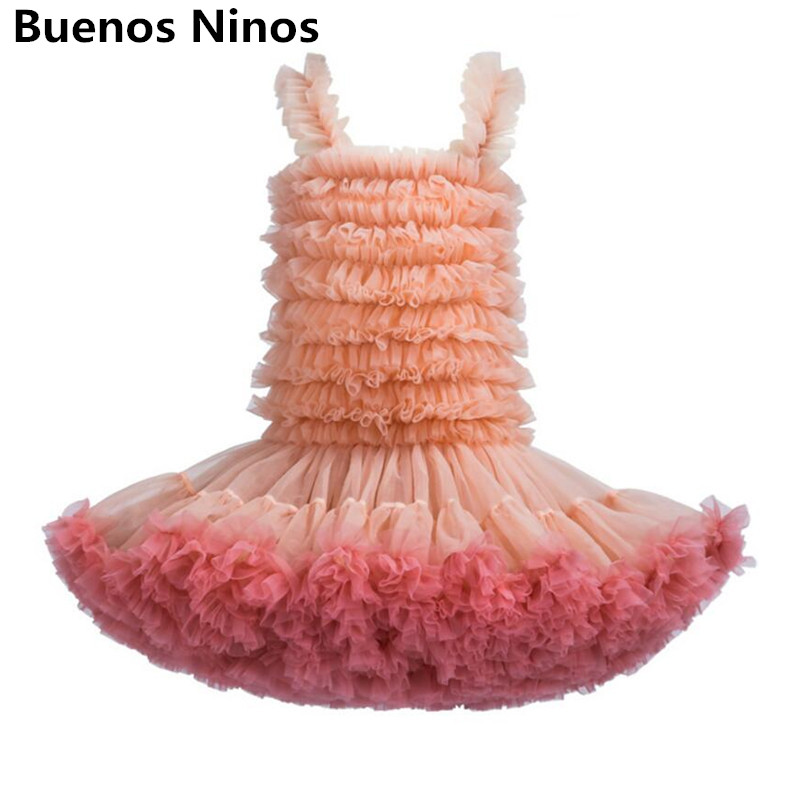 Baby Girls Party Tulle Ball Gown Vest Dress For Children TUTU Slip Dresses Sundress Pure Color 2019 New Lovely Kids ClothingsBaby Girls Party Tulle Ball Gown Vest Dress For Children TUTU Slip Dresses Sundress Pure Color 2019 New Lovely Kids Clothings