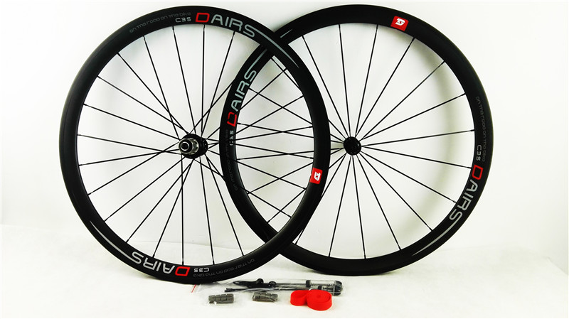 цена free shipping 38mm Clincher carbon wheels 23mm wide Crabon road bike wheels Toray 700C UD Matte bike wheels R13 carbon wheels