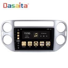 Dasaita 9 «Android 8,0 автомобиль gps радио для Volkswagen VW Tiguan 2010-2015 с Octa Core 4 ГБ + 32 ГБ авто стерео Мультимедиа