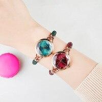 2019 new Korea small small dial watch ladies waterproof niche bracelet watch quartz watch tassel