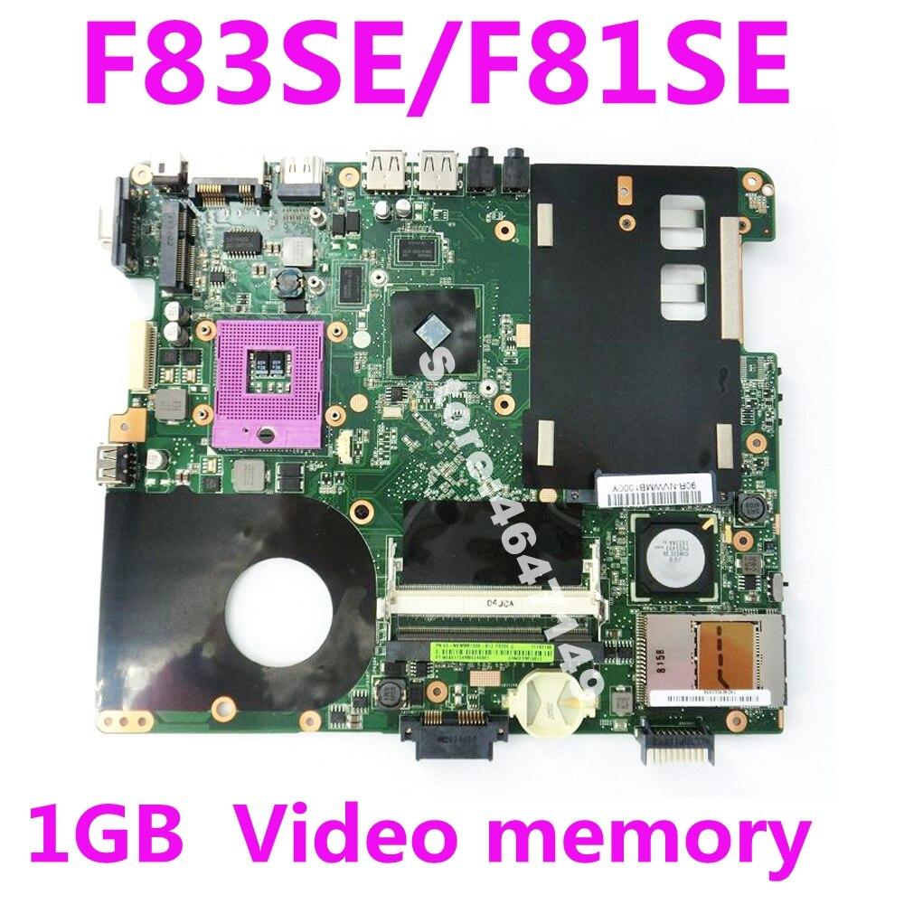 F83SE HD4570 1GB Mainboard REV 2.2 For Asus X88S X83S F83S F81S F83SE F81SE Laptop Motherboard PM45 DDR2 100% Tested F83SE HD4570 1GB Mainboard REV 2.2 For Asus X88S X83S F83S F81S F83SE F81SE Laptop Motherboard PM45 DDR2 100% Tested