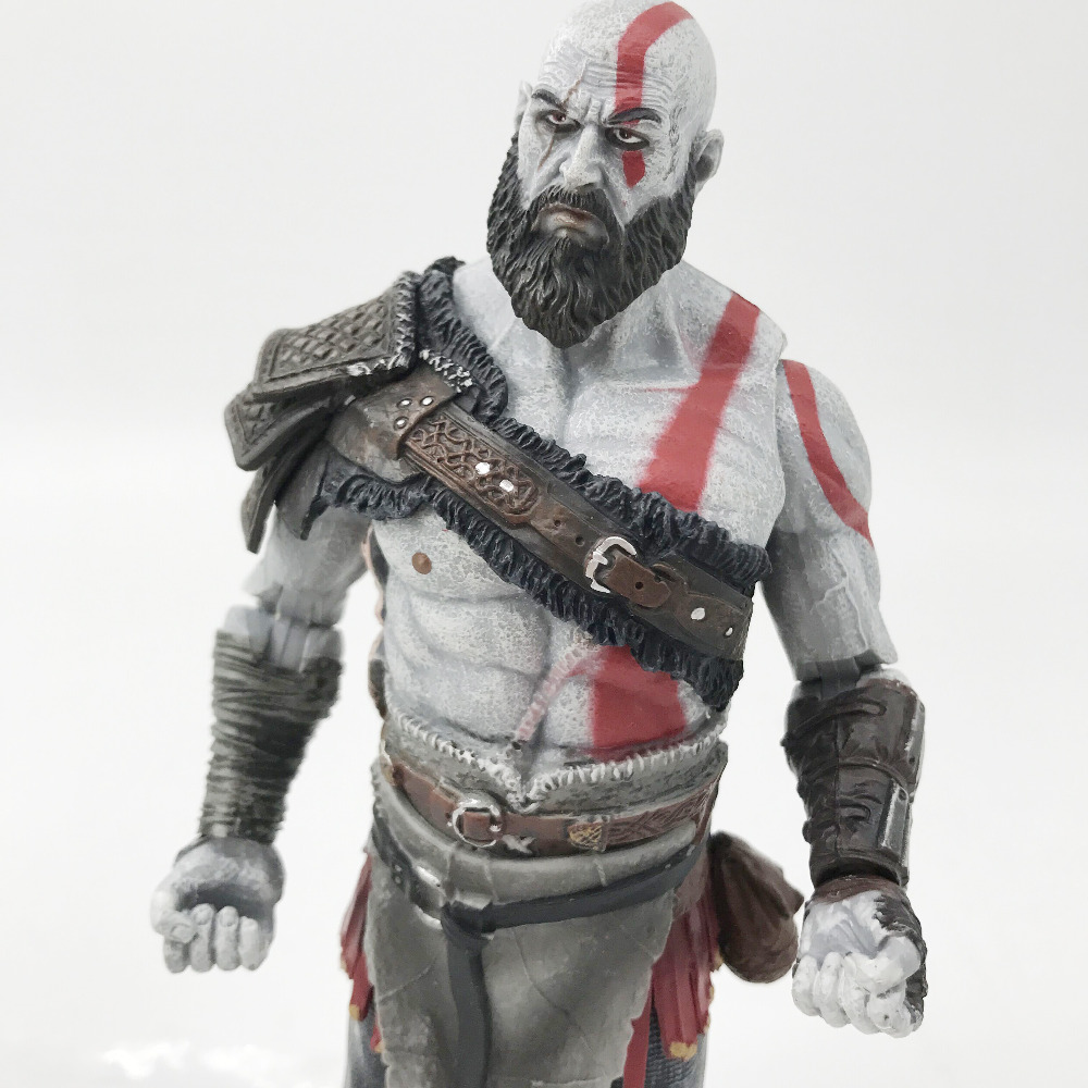 Tobyfancy NECA Game God Of War Kratos կացինով PVC - Խաղային արձանիկներ - Լուսանկար 3