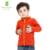 2016 Tortas Calientes Otoño Invierno Jacke Niñas Bebés Ropa para niños, Además de Terciopelo Niños de Dibujos Animados Chaquetas Capa Del Bebé Espesar Ropa de Abrigo