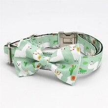 Викунья ошейник галстук-бабочка с металлической пряжкой большая и маленькая собака и кошка аксессуары для ошейника питомца