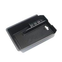 Armazenamento para bmw x3 g01 2018 console central preto peças caso do braço recipiente prático leve de alta qualidade