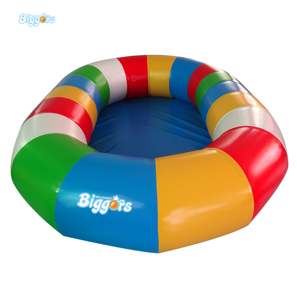 Inflatable Biggors Inflatable Kids Pool Colorful Rainbow Inflatable Swimming Pool For Sale Toys Games 40cm soft silicone reborn baby doll play house toy like real 16inch newborn princess girls babies dolls birthday gifts present