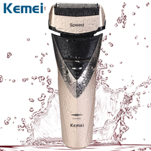 Kemei electric shaver rechargeable shaveing for man shavers body wash twin blade cutter head men face care Shaver razor KM-8102