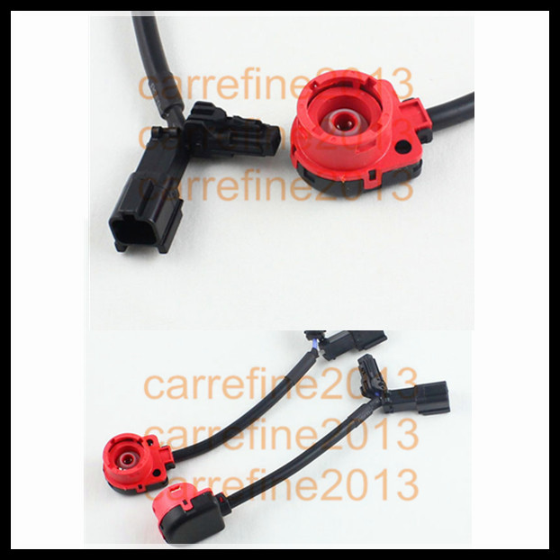 Rockeybright 2 PCS/lot D2S D2R D2C Hid Light Bulb Socket Wire Harness Big Ket Cable Connector D2 Bulb Holder