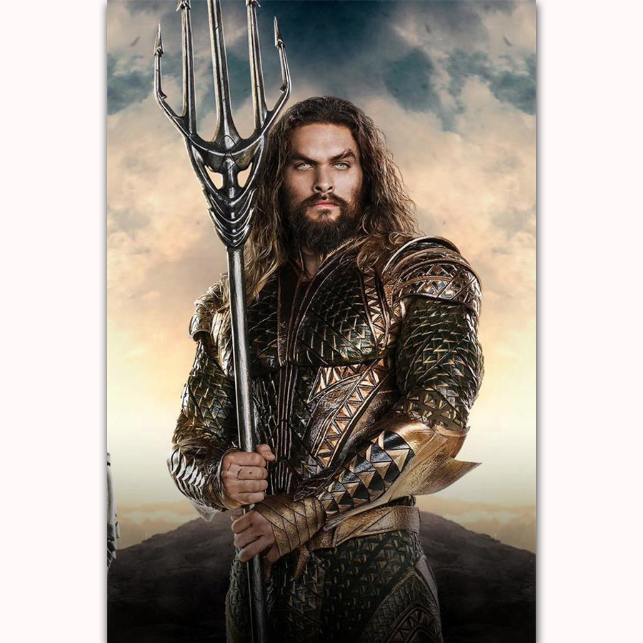 FX106 Hot New 2018 Jason Momoa Aquaman DC Superhero Marvel