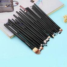 High Quality 20 Pcs Makeup Powder Foundation Eyeshadow Eyeliner Lip Cosmetic Brushes Set New