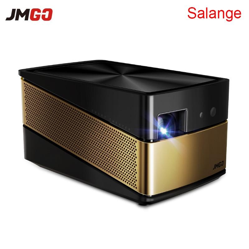 JmGO V8 4 Karat Projektor 3D Android Full HD 1080 P 1920*1080 Bluetooth 4,0 2G/16G Hallo-fi Lautsprecher Overhead Projetor Heimkino