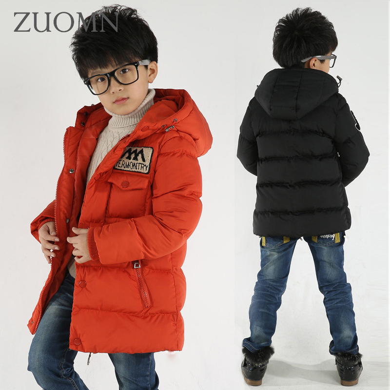 Fashion Girl Thicken Snowsuit Winter Jackets For Girls Children Down Coats Outerwear Warm Hooded Clothes Big Kids Clothing GH236 new winter jackets for boys fashion boy thicken snowsuit youth children down coats outerwear warm tops clothes kids clothing