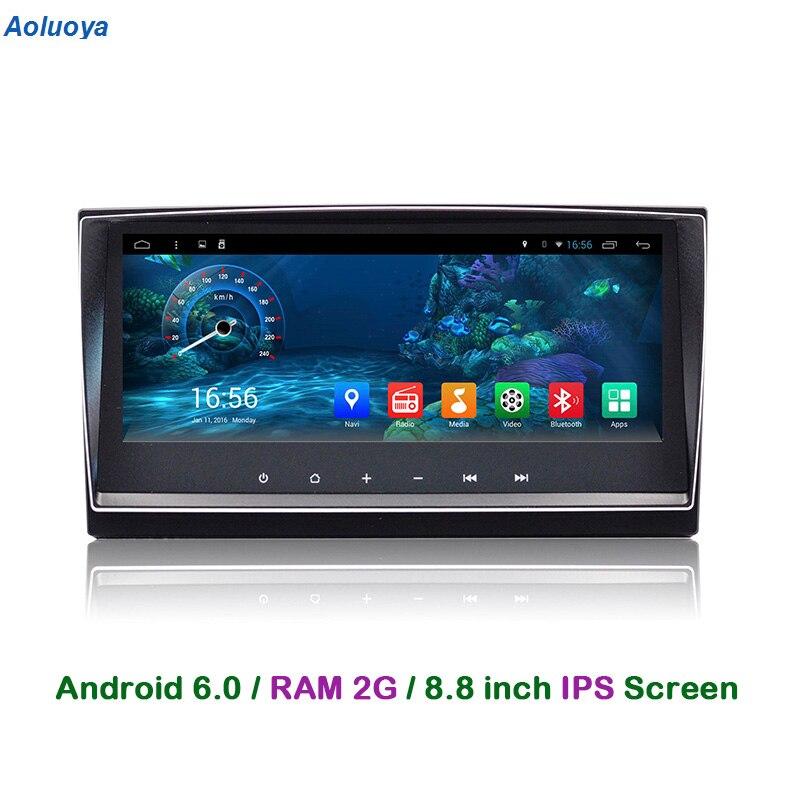 Aoluoya RAM 2GB Android 6.0 CAR DVD Player For Toyota Avensis 2009 2010 2011 2012 2013 audio Radio GPS Navigation mirror link 3G