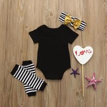 Baby Girl Mini Mama Romper Clothing Set