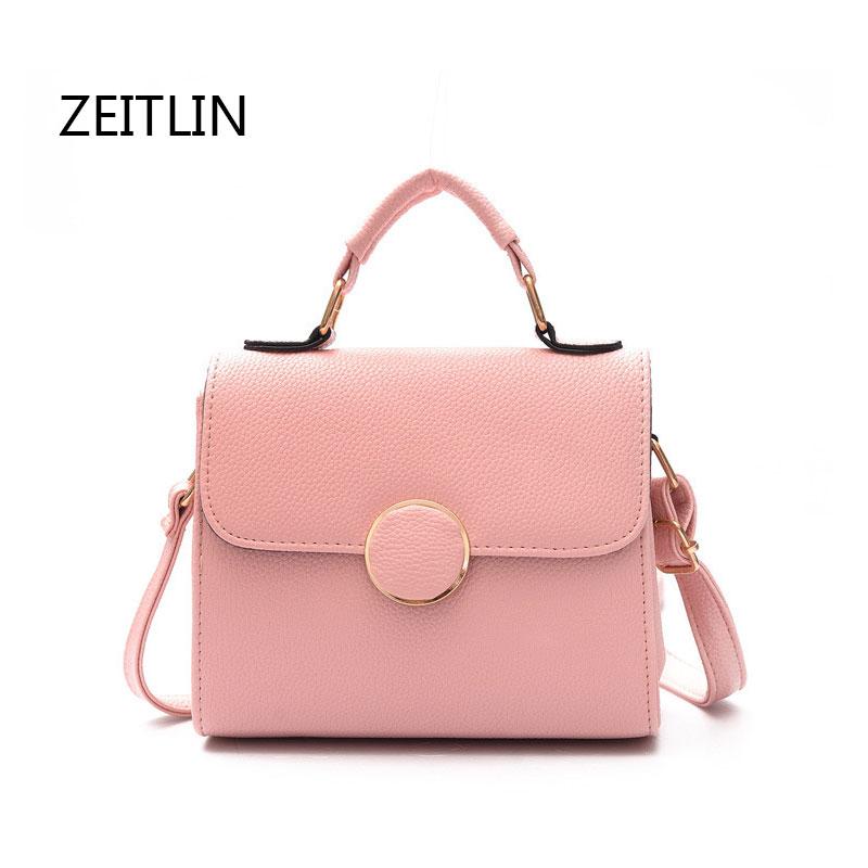 ZEITLIN Crossbody Bags For Women 2018 Shoulder Bag PU Leather Handbags Cheap Women Bags For Summer Ladies Messenger T1314