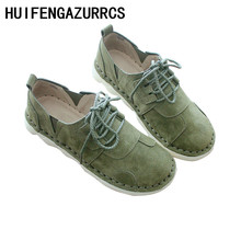 HUIFENGAZURRCS-Spring Japanese Literature and Art Retro Single Shoes,Genuine Leather Handmade Original Womens Shoes,3 colors