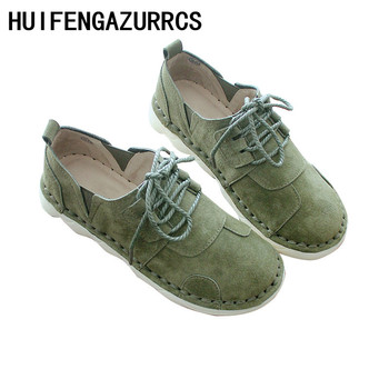HUIFENGAZURRCS-Spring Japanese Literature and Art Retro Single Shoes,Genuine Leather Handmade Original Women's Shoes,3 colors