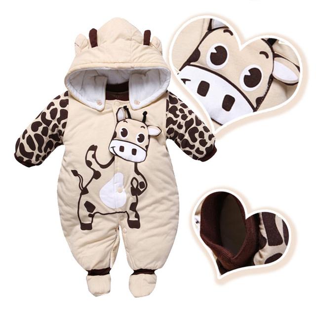 2015 Baby Boy Baby Girl Foodies Térmica Design de Personagens Com o Chapéu para o Bebê 4-24 m 3 T