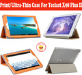 Newest Ultra-thin Leather PU Case For Teclast X98 Plus II 9.7 inch Tablet,Protective Cover For Teclast X 98 Plus II With 4 Gifts