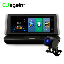 CUagain CU2 8 Car gps Android Wifi DVR 4G 1080P hd gps Car Navigation font b