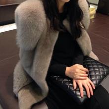 2018 women s outerwear coats new vest fox fur mink fur vest whole female short paragraph