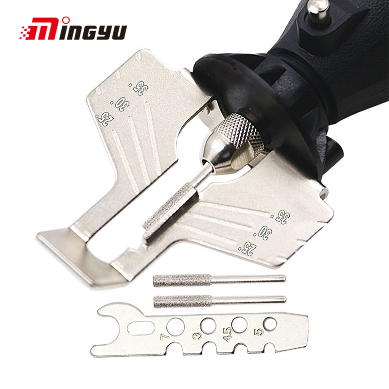 Sharpening Attachment Sharpener Chain Saw Tooth Grinding Tools Guide Drill Adapter Dremel Style Drill Rotary Tools Mini DrillSharpening Attachment Sharpener Chain Saw Tooth Grinding Tools Guide Drill Adapter Dremel Style Drill Rotary Tools Mini Drill