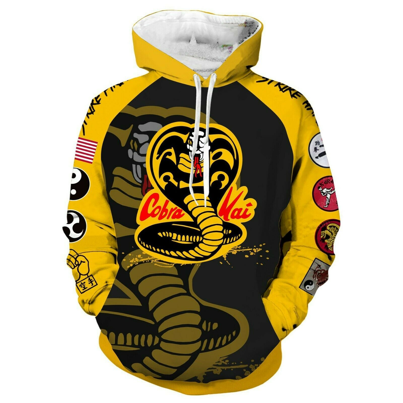2019 new Karate Kid Val Armor  Hoodie 3D Animation Clothes Cosplay Coat