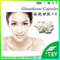 Best selling puro e orgânico clareamento da pele glutationa cápsulas 500 mg * 100 pcs/lote frete grátis