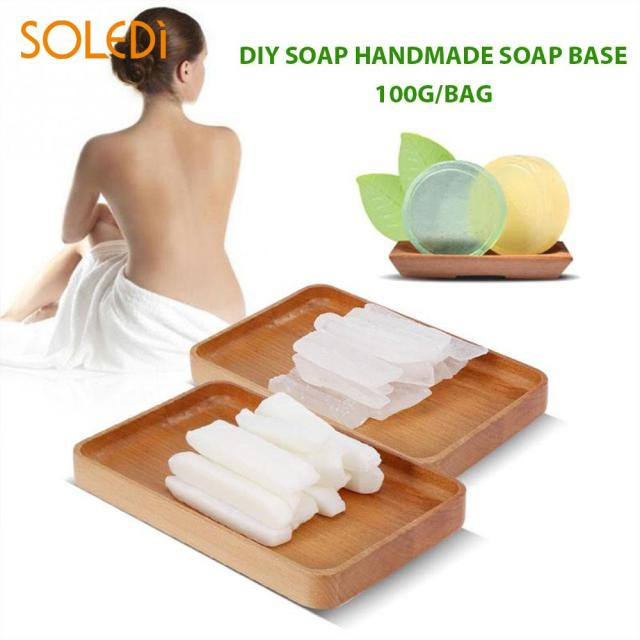Hand Making Soap Soap Making Base Saft Transparent Clear 100g Raw Materials...