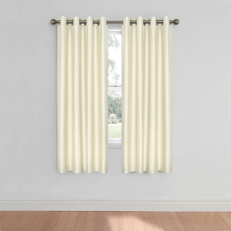 1pc Short Curtains For Kitchen Curtains For Living Room Rose Pattern Bay Window Curtains For