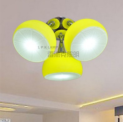 люстра лимон