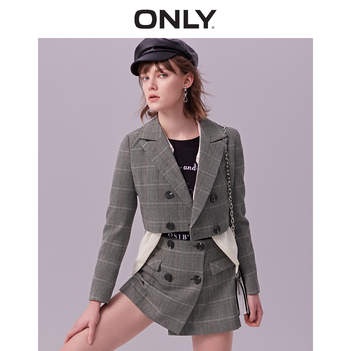 ONLY 2019 Spring Summer New Women's Short Leisure Blazer |119108530