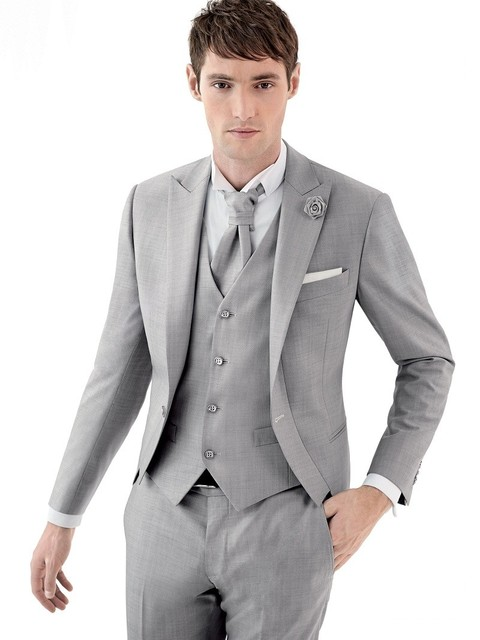 Cool Grey Suit Prom Pictures Inspiration - Wedding Dress Ideas ...