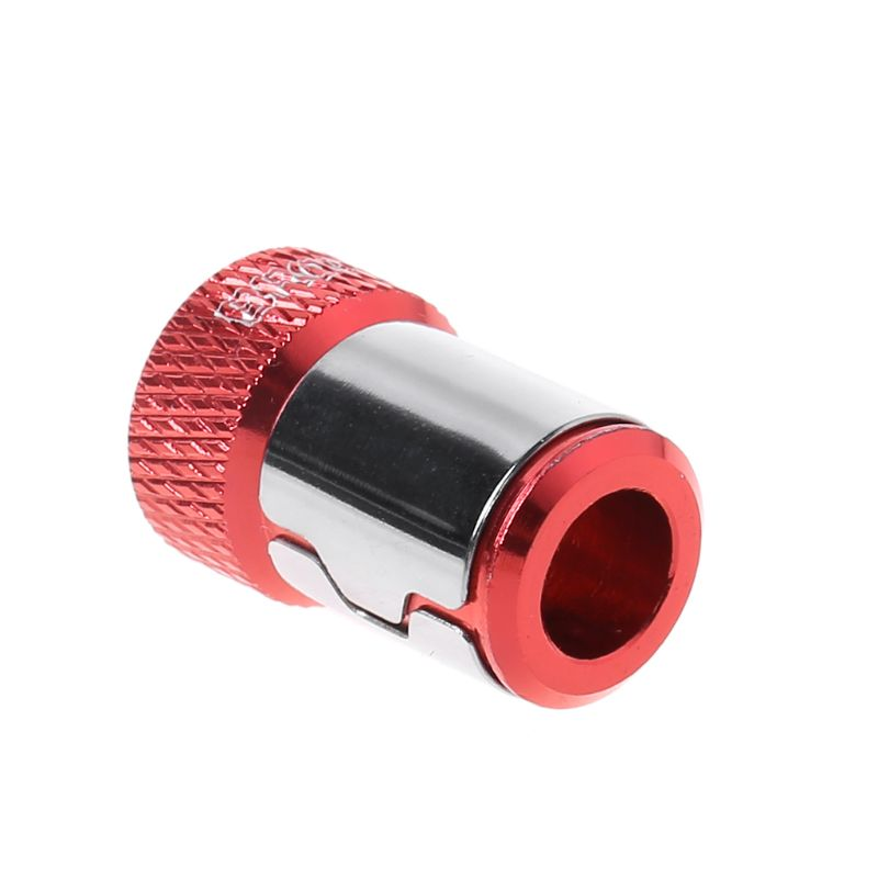 6.35mm Magnetic Ring Red Strong Magnetizer Accessories Adapter Tool Bits