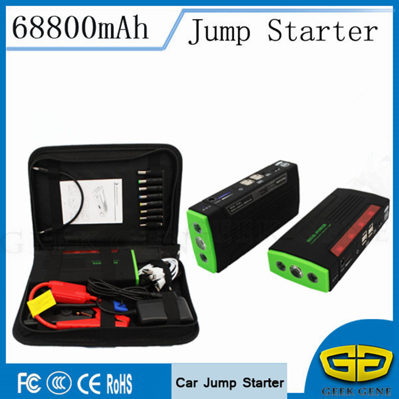Petrol Diesel Car Jump Starter 600A Portable Car Charger For Car Battery 68800mAh Starting Device Lighter Power Bank Car Starter car jump starter 600a portable starting device lighter power bank 12v charger for car battery booster starting petrol diesel ce