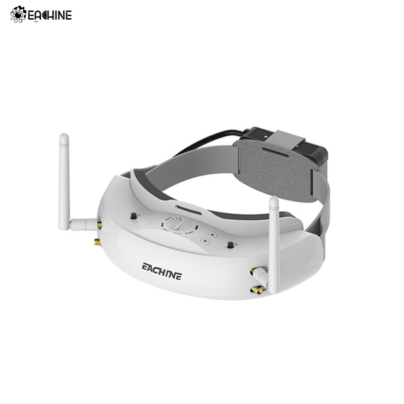 Eachine EV200D 1280*720 5,8g 72CH True Diversity FPV Brille HD Port in 2D/3D Eingebaute DVR