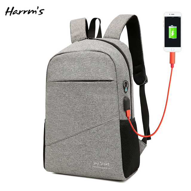 Multi-Function USB Charge Anti Business Bag Theft Laptop Backpack Fashion Travel Male Women Duffel School Bags Backpack