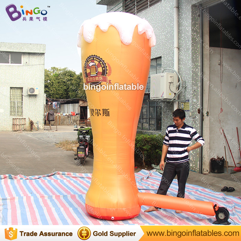 HOT SALES 3m/10ft inflatable lighting LED beer mug decoration toy for advertising in bar or shop etc free shippingHOT SALES 3m/10ft inflatable lighting LED beer mug decoration toy for advertising in bar or shop etc free shipping