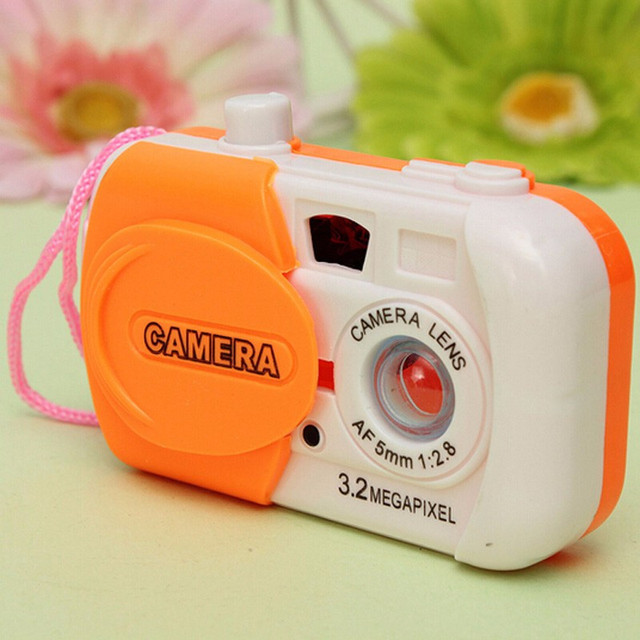 2018 New 1pcs Children Take Photo Educational Toys Baby Learning Study Camera Educational Toys 8.6*5.9*2.5cm