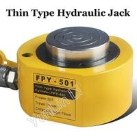 Thin Type Hydraulic Oil Cylinder 50T Separate Jack Hydraulic Cylinder