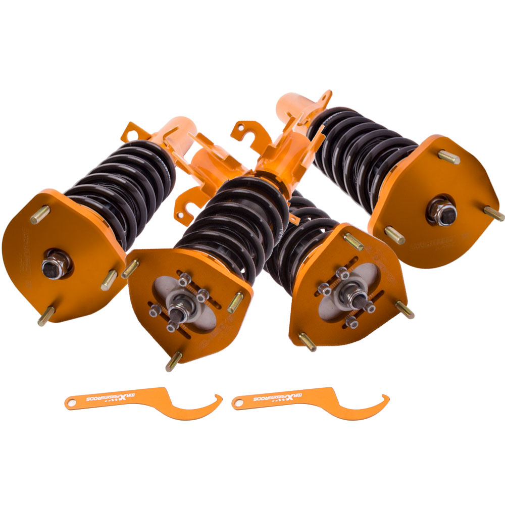 все цены на Height Adj. Coilover for Toyota Corolla E90 E100 E110 Spring Shock Suspension Absorber Coilovers 1988-1999 онлайн