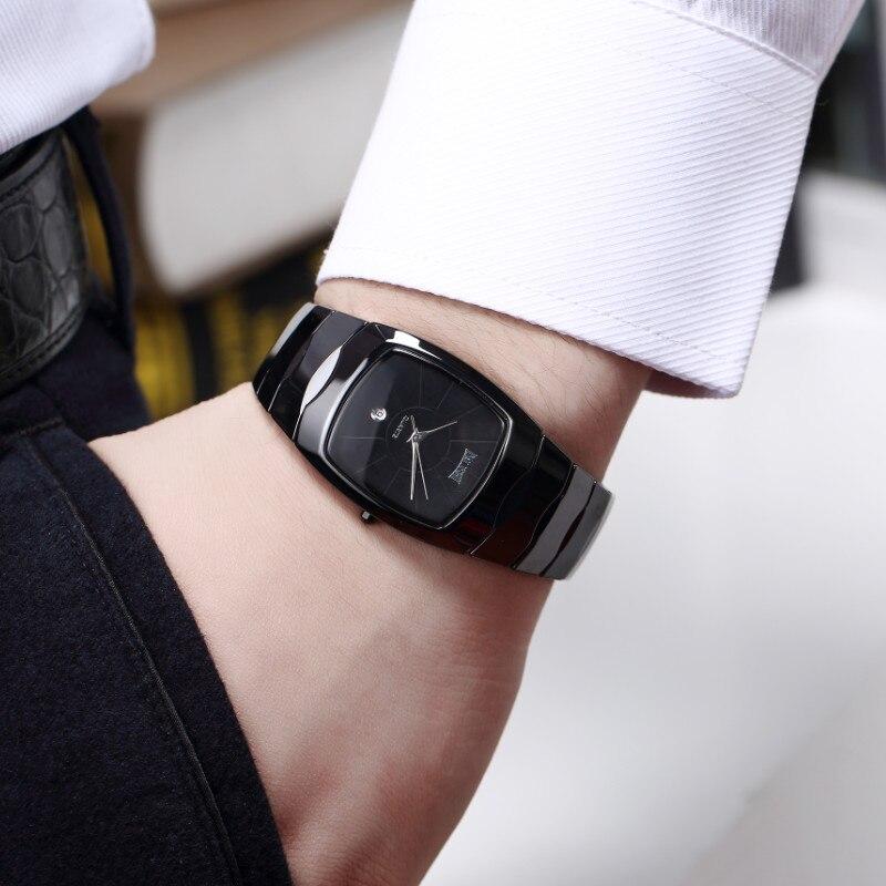 DALISHI Marque De Luxe Hommes Montres À Quartz Montre Nouvelle Arrivée Mâle Robe Montres Rectangulaire Simple Cadran Hommes Horloge Relogio Feminino