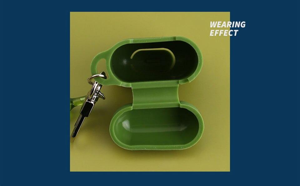 para apple airpods acessórios capa protetora bluetooth