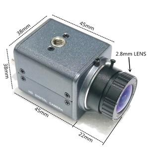 "Image 4 - High Quality CCTV Camera SONY IMX307 Sensor 1/2.8"" Color CMOS 1080P MiNi Camera HD CCTV Bullet Camera,AHD CVI TVI CVBS Camera"