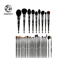 ENERGY Brand Professional 37pcs Animal Hair Makeup Brushes Make Up Brush Set Kit Brochas Maquillaje Pinceaux Maquillage FM37AW