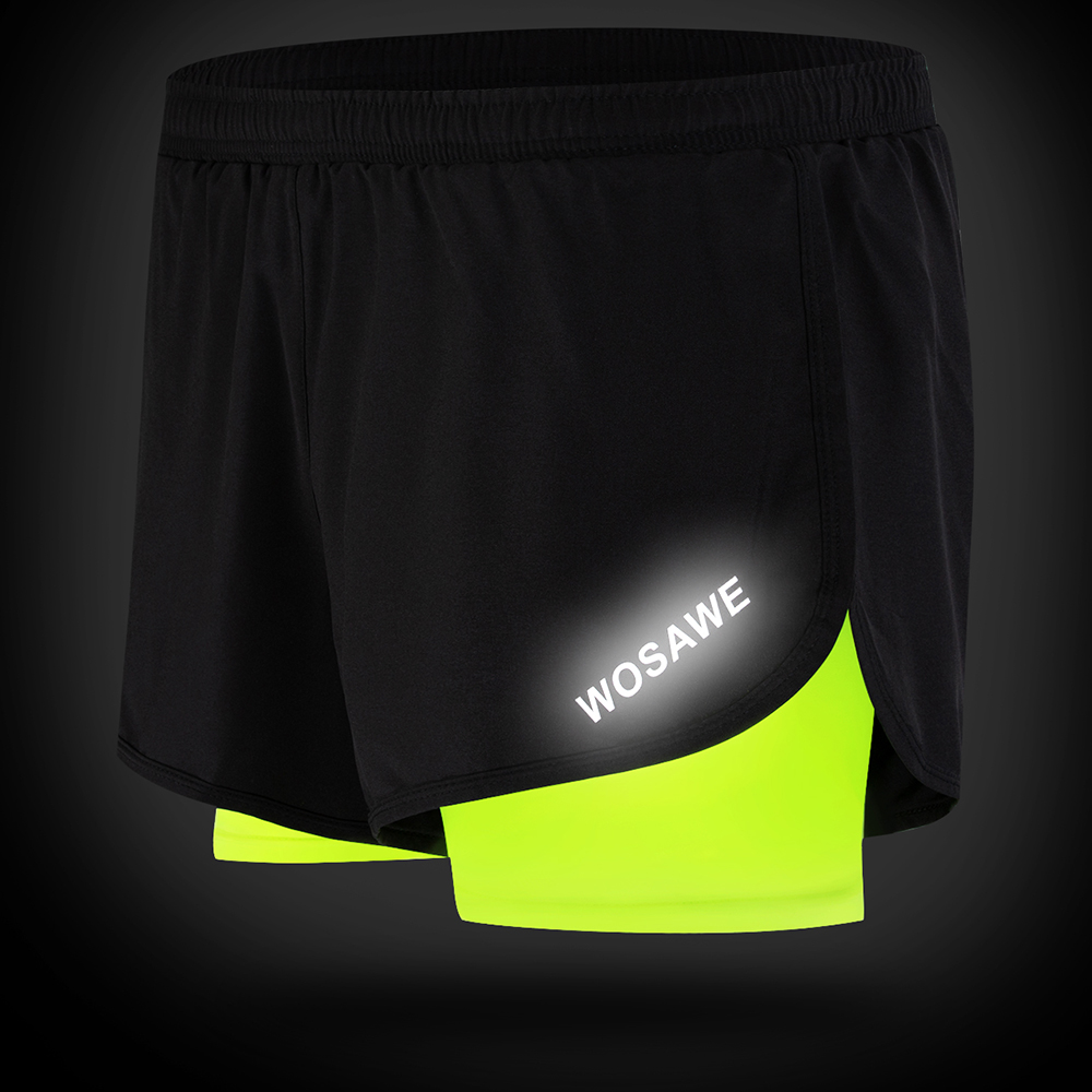 Image 4 - WOSAWE Motorcycle Shorts 2 IN 1 Mens Shorts Pantalon Motocross Men Downhill Off Road Bicycle With Breathable Longer Liner Shorts-in Shorts from Automobiles & Motorcycles