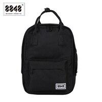 8848 kadın tiki okul çantaları üniversite öğrencisi için siyah sırt çantası kanvas seyahat çantaları kadın omuz sırt çantası Mochila 003-008-015