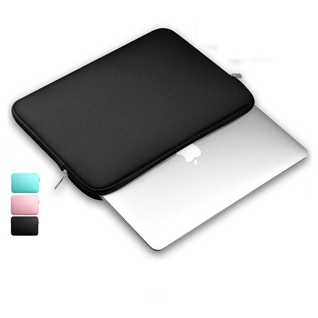 c890feb0db703 Moda Yumuşak Kol laptop çantası Kılıf Için apple mac Macbook AIR PRO Retina  11