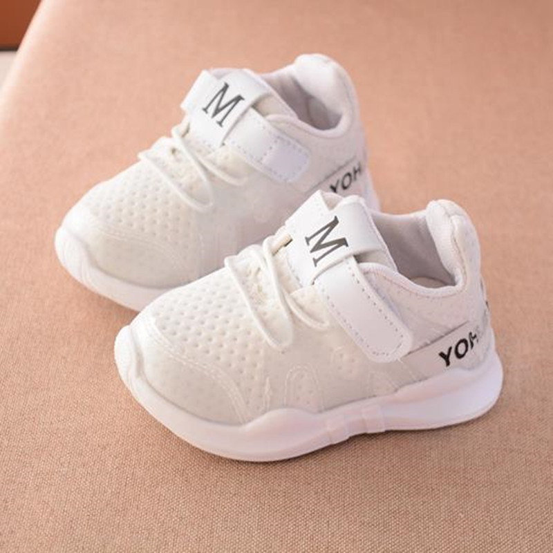 HaoChengJiaDe Spring New Fashion Net Breathable Pink Leisure Sports Running Shoes For Girls White Shoes For Boys Brand Kids ShoeHaoChengJiaDe Spring New Fashion Net Breathable Pink Leisure Sports Running Shoes For Girls White Shoes For Boys Brand Kids Shoe